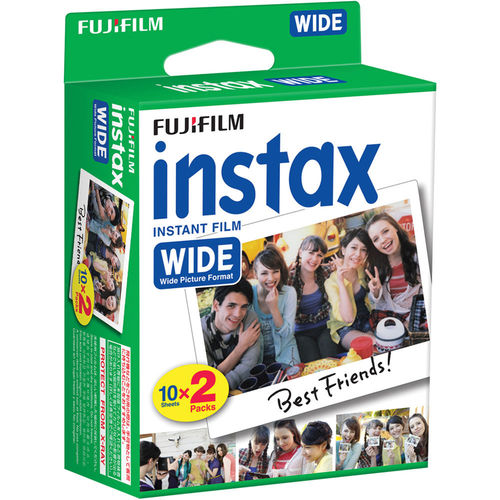 Fujifilm Instax Wide 2x10 - Color