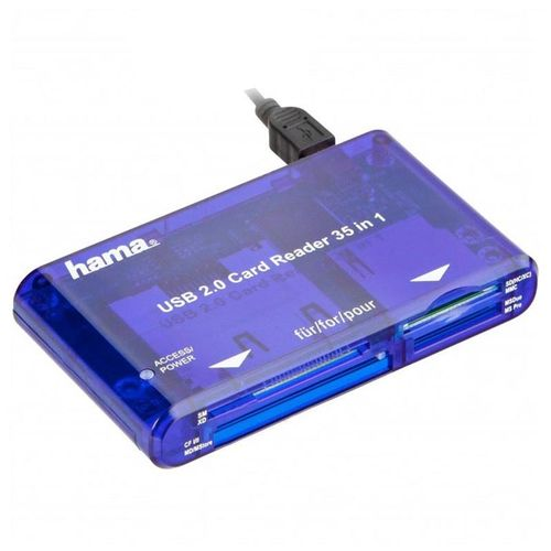 Hama Lettore USB 2.0 Multi Card 35 in 1
